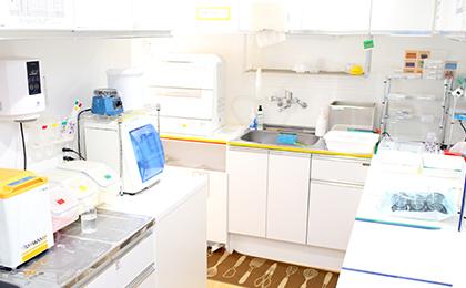 徹底された衛生管理と感染予防
